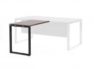 Приставка к столу опоры черный