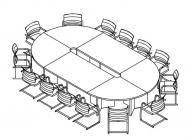 Стол переговоров 360х200
