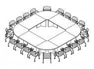 Стол переговоров 360x360