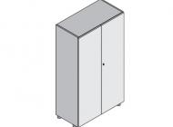 Шкаф средний с 2-мя дверьми