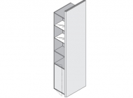 Шкаф-стойка высокий