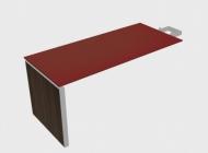 Брифинг-приставка фронтальная EOS со стеклянной столешницей