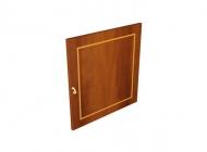 Низкая дверь узкого шкафа 660
