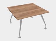 Стол для переговоров квадратный