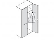 Шкаф для одежды Enosi Evo