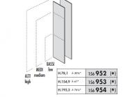 Боковые панели для шкафов Enosi Evo