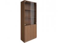 Шкаф для документов со стеклянными дверьми В.СТ-1.2