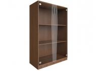 Шкаф для документов средний со стеклянными дверьми В.СТ-2.4
